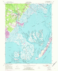 Download a high-resolution, GPS-compatible USGS topo map for Tuckerton, NJ (1973 edition)