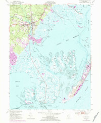 Download a high-resolution, GPS-compatible USGS topo map for Tuckerton, NJ (1984 edition)