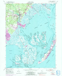 Download a high-resolution, GPS-compatible USGS topo map for Tuckerton, NJ (1991 edition)