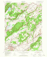 Download a high-resolution, GPS-compatible USGS topo map for Washington, NJ (1967 edition)