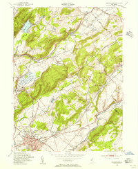 Download a high-resolution, GPS-compatible USGS topo map for Washington, NJ (1955 edition)