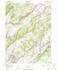 Download a high-resolution, GPS-compatible USGS topo map for Washington, NJ (1984 edition)