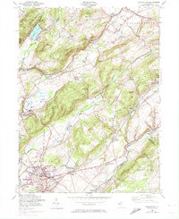 Download a high-resolution, GPS-compatible USGS topo map for Washington, NJ (1974 edition)