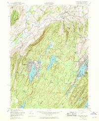 Download a high-resolution, GPS-compatible USGS topo map for Wawayanda, NJ (1969 edition)
