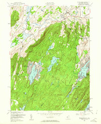 Download a high-resolution, GPS-compatible USGS topo map for Wawayanda, NJ (1962 edition)