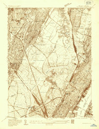Download a high-resolution, GPS-compatible USGS topo map for Weehawken, NJ (1935 edition)