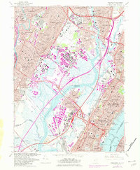 Download a high-resolution, GPS-compatible USGS topo map for Weehawken, NJ (1982 edition)