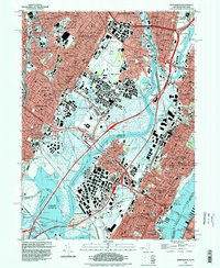 Download a high-resolution, GPS-compatible USGS topo map for Weehawken, NJ (1998 edition)