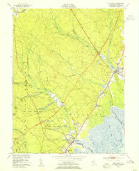 Download a high-resolution, GPS-compatible USGS topo map for West Creek, NJ (1954 edition)