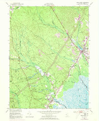 Download a high-resolution, GPS-compatible USGS topo map for West Creek, NJ (1973 edition)