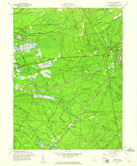 Download a high-resolution, GPS-compatible USGS topo map for Whiting, NJ (1961 edition)