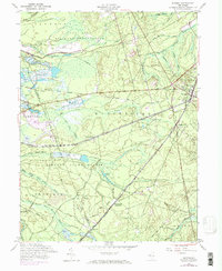 Download a high-resolution, GPS-compatible USGS topo map for Whiting, NJ (1971 edition)