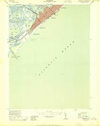 Download a high-resolution, GPS-compatible USGS topo map for Wildwood, NJ (1944 edition)