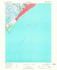 Download a high-resolution, GPS-compatible USGS topo map for Wildwood, NJ (1967 edition)