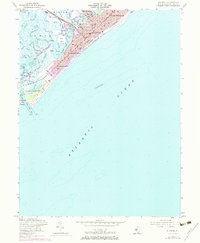 Download a high-resolution, GPS-compatible USGS topo map for Wildwood, NJ (1973 edition)