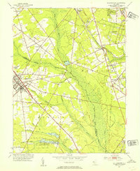 Download a high-resolution, GPS-compatible USGS topo map for Williamstown, NJ (1954 edition)