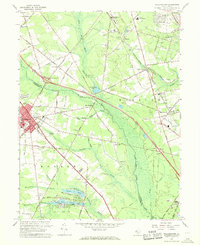 Download a high-resolution, GPS-compatible USGS topo map for Williamstown, NJ (1968 edition)