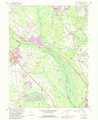 Download a high-resolution, GPS-compatible USGS topo map for Williamstown, NJ (1982 edition)