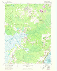 Download a high-resolution, GPS-compatible USGS topo map for Woodbine, NJ (1973 edition)
