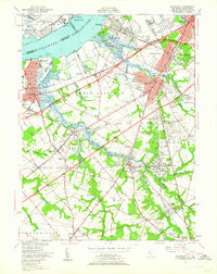 Download a high-resolution, GPS-compatible USGS topo map for Woodbury, NJ (1962 edition)