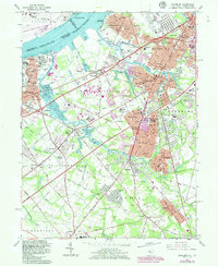 Download a high-resolution, GPS-compatible USGS topo map for Woodbury, NJ (1986 edition)