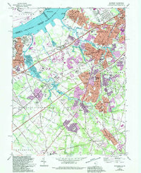 Download a high-resolution, GPS-compatible USGS topo map for Woodbury, NJ (1994 edition)