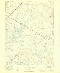 Download a high-resolution, GPS-compatible USGS topo map for Woodmansie, NJ (1951 edition)