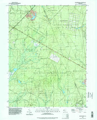 Download a high-resolution, GPS-compatible USGS topo map for Woodmansie, NJ (1998 edition)