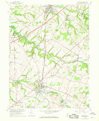 Download a high-resolution, GPS-compatible USGS topo map for Woodstown, NJ (1968 edition)