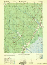 Download a high-resolution, GPS-compatible USGS topo map for West Creek, NJ (1951 edition)