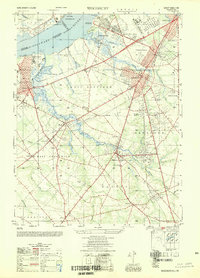 Download a high-resolution, GPS-compatible USGS topo map for Woodbury, NJ (1954 edition)