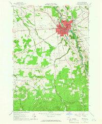 USGS 1:24000-scale Quadrangle for Malone, NY 1964 - Data.gov