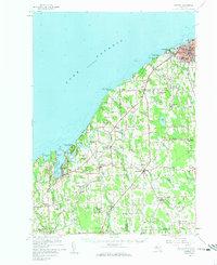 USGS 1:62500-scale Quadrangle for Oswego, NY 1960 - Data gov