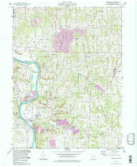 Download a high-resolution, GPS-compatible USGS topo map for Adamsville, OH (1998 edition)