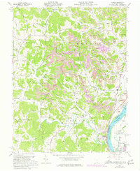 Download a high-resolution, GPS-compatible USGS topo map for Addison, OH (1977 edition)
