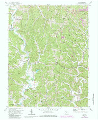 Download a high-resolution, GPS-compatible USGS topo map for Aid, OH (1985 edition)
