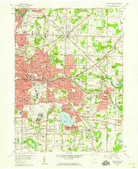 Download a high-resolution, GPS-compatible USGS topo map for Akron East, OH (1959 edition)