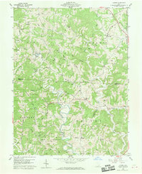 Download a high-resolution, GPS-compatible USGS topo map for Alfred, OH (1970 edition)
