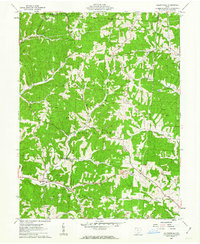 Download a high-resolution, GPS-compatible USGS topo map for Allensville, OH (1963 edition)