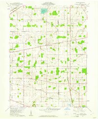 Download a high-resolution, GPS-compatible USGS topo map for Alvada, OH (1961 edition)