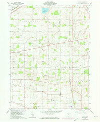 Download a high-resolution, GPS-compatible USGS topo map for Alvada, OH (1973 edition)