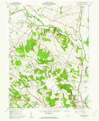 Download a high-resolution, GPS-compatible USGS topo map for Andersonville, OH (1962 edition)