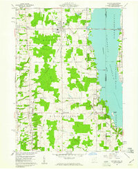 Download a high-resolution, GPS-compatible USGS topo map for Andover, OH (1961 edition)