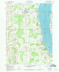 Download a high-resolution, GPS-compatible USGS topo map for Andover, OH (1971 edition)