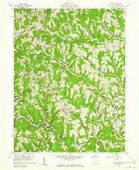 Download a high-resolution, GPS-compatible USGS topo map for Antioch, OH (1961 edition)