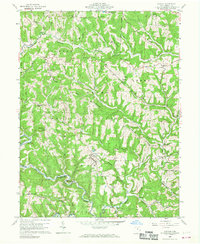 Download a high-resolution, GPS-compatible USGS topo map for Antioch, OH (1968 edition)
