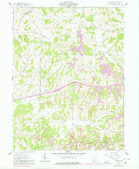 Download a high-resolution, GPS-compatible USGS topo map for Antrim, OH (1978 edition)