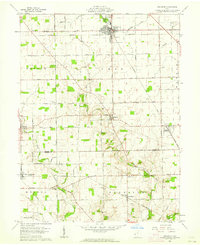 Download a high-resolution, GPS-compatible USGS topo map for Arcanum, OH (1963 edition)
