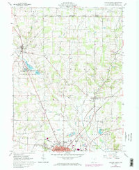 Download a high-resolution, GPS-compatible USGS topo map for Ashland North, OH (1973 edition)