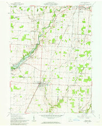 Download a high-resolution, GPS-compatible USGS topo map for Ashley, OH (1963 edition)